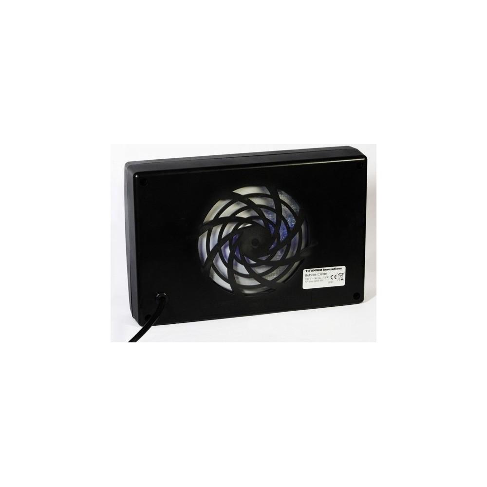 purificateur d 39 air bubble clean noir. Black Bedroom Furniture Sets. Home Design Ideas