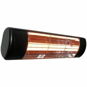 Chauffage infrarouge extérieur IP55 1500w Noir - HLW15B