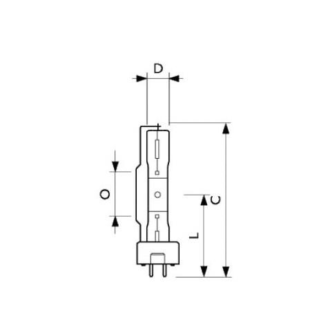 Dimensions HOK 4/120 SE 1CT