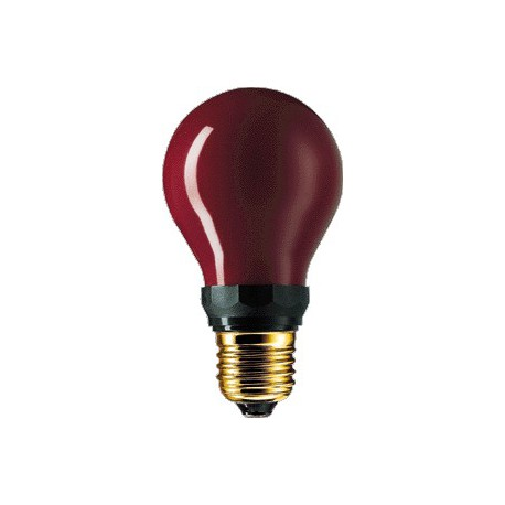 230V 15W Rouge Lampe inactinique B22 PF712B