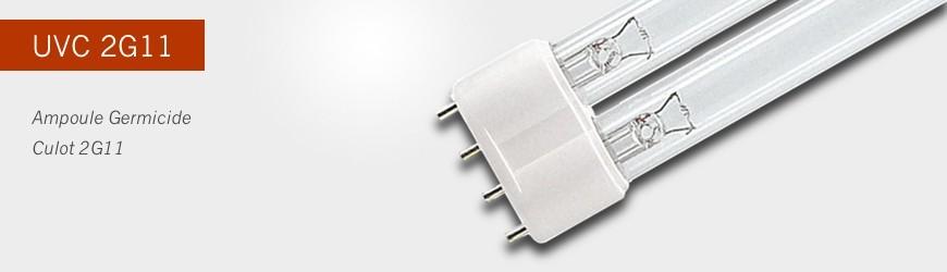 Lampe UVC 2G11